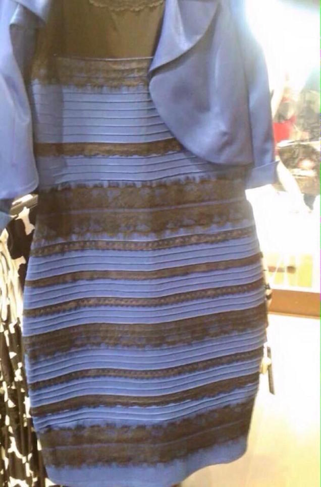 So Is This Dress Actually White And Gold Or Black And Blue?