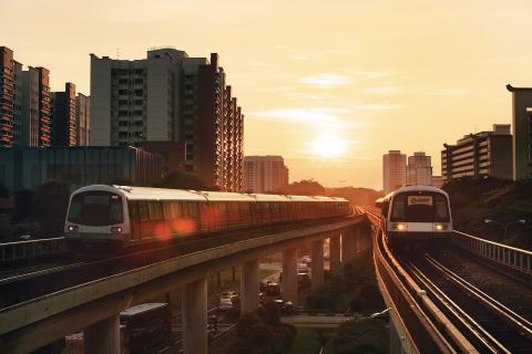 dawn smrt train tracks