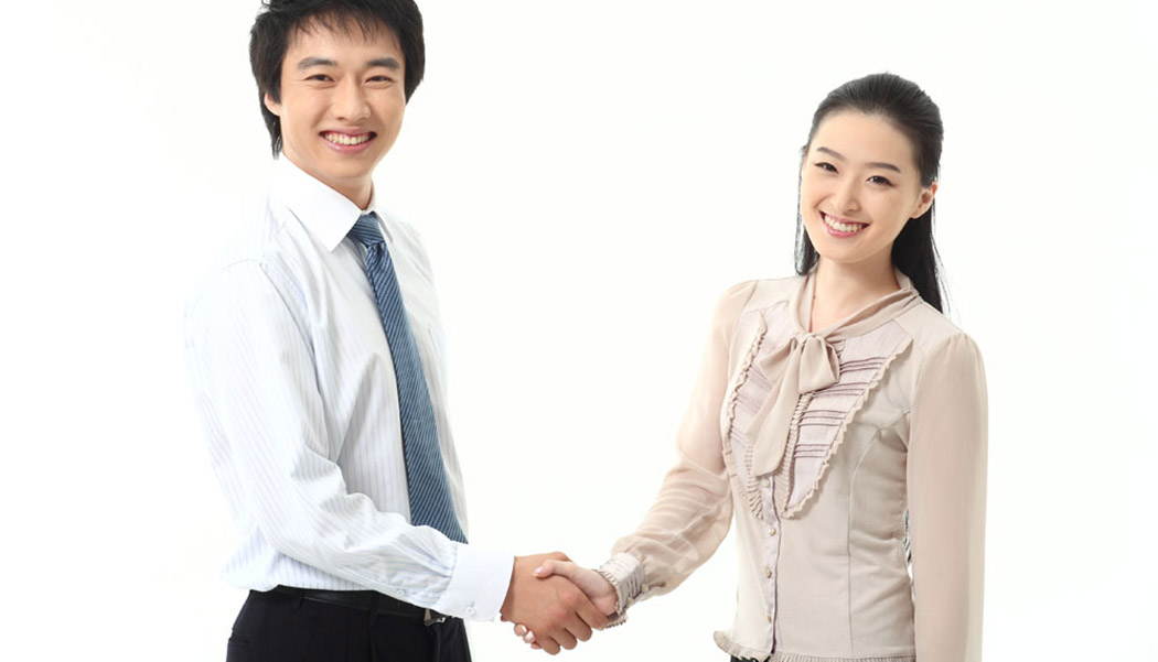 handshake lady marketable resume