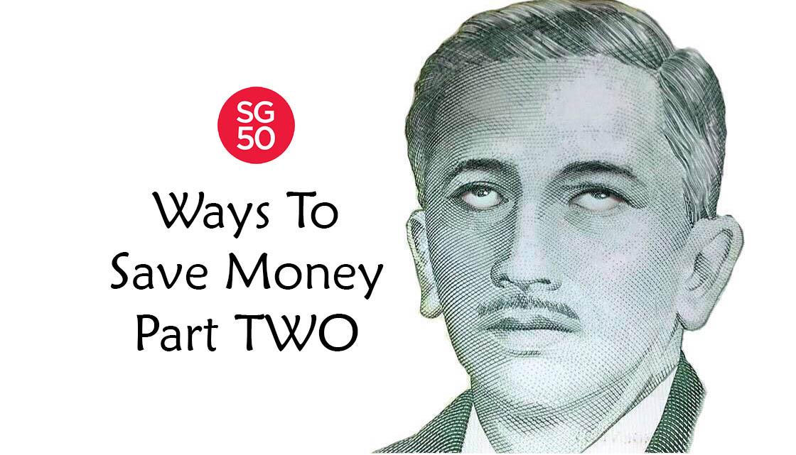 sg50 ways to save money