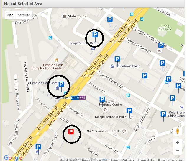 4 chinatown parking