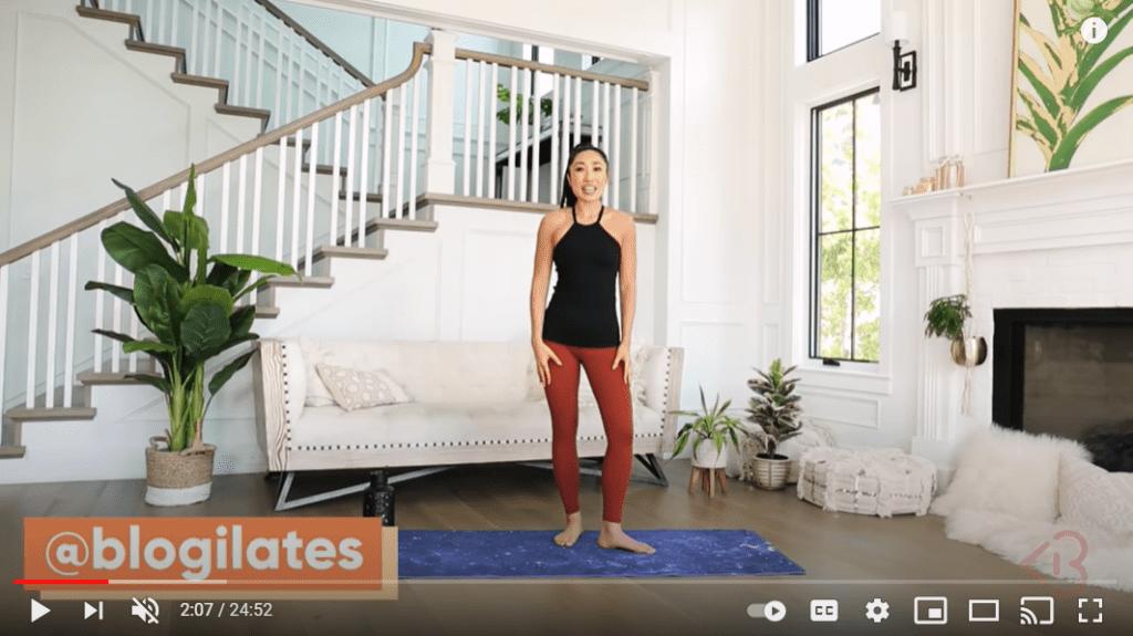 Best Pilates Online Workout