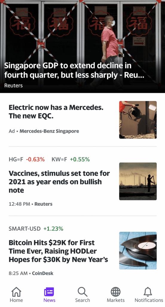 Yahoo Finance News