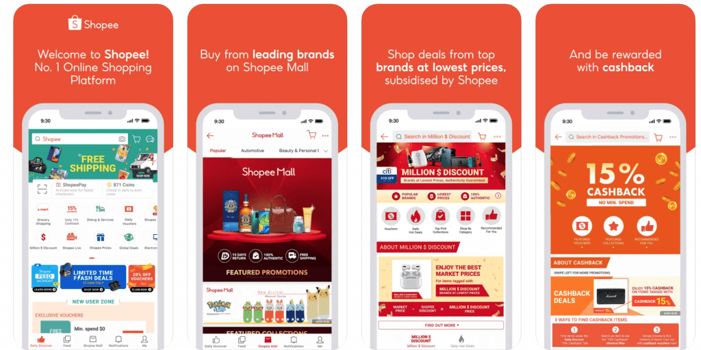 Shopee Cashback App